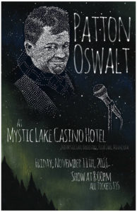 Patton Oswalt @ Mystic Lake Casio